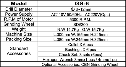 20080630138GS6-E specification