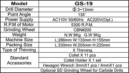 2008082882GS19-E specification